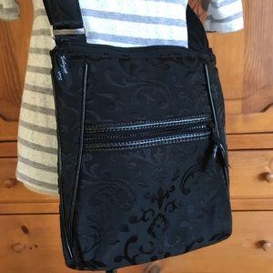 Soft Floral Adjustable Crossbody Shoulder Bag